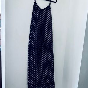 Medium Polka Dot Maxi Dress NWOT